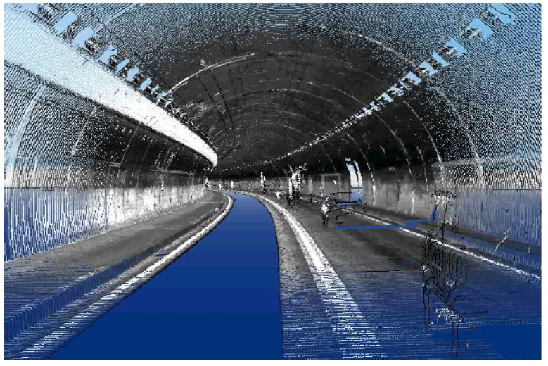 Tunnel 3D turn Rail Monitoring