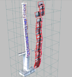 measuring tower 280x300 Facade Monitoring