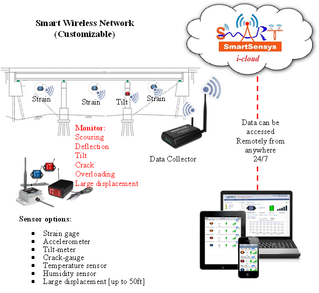 wireless sensor network custom Wireless Sensor